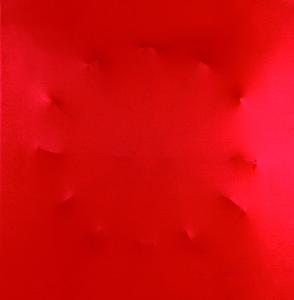 P. P. 6 tecnica mista su tela cm 100 x 100