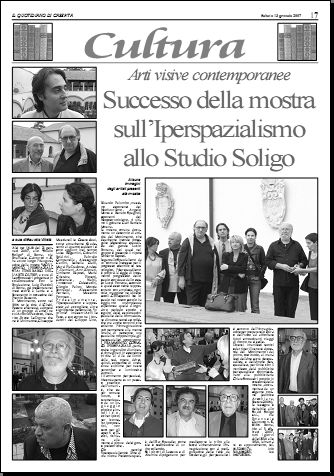 IL QUOTIDIANO DI CASERTA Giovedì 13 gennaio 2007